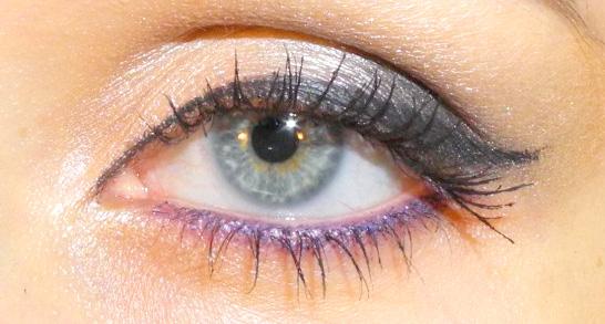 как правильно накрасить глаза карандашом
