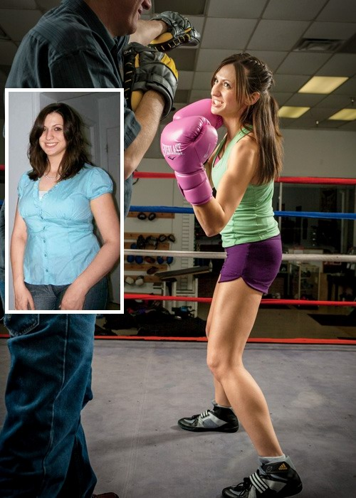 Истории похудения с фото