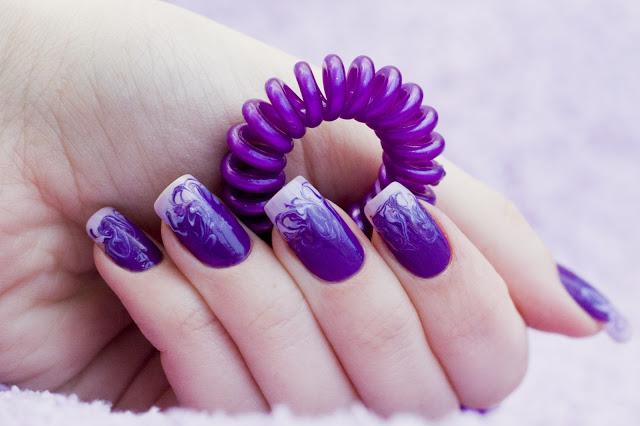 ногти нарощенные с черным цветом фото