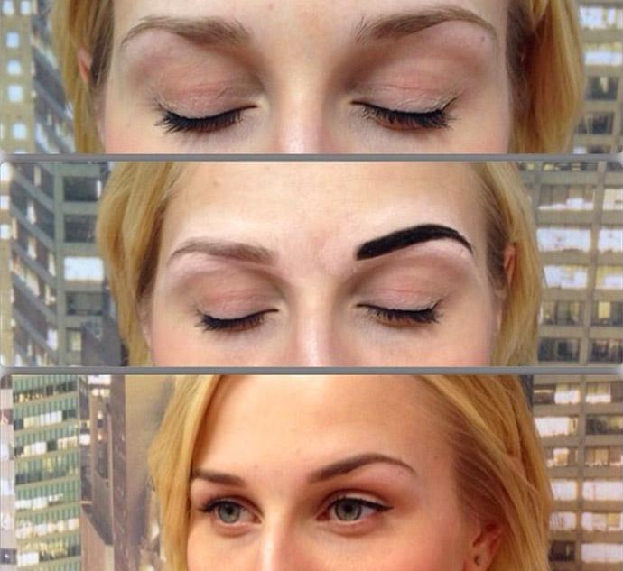 брови хной фото до и после отзывы фото