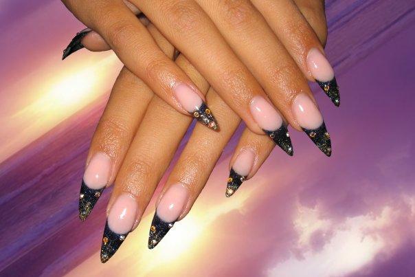 наращивание ногтей и их дизайн фото