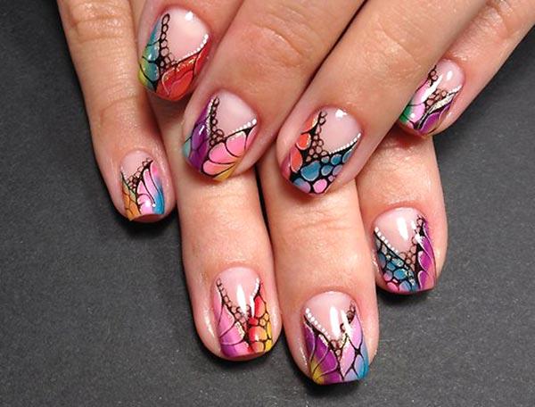 рисунки для ногтей гель лаком фото