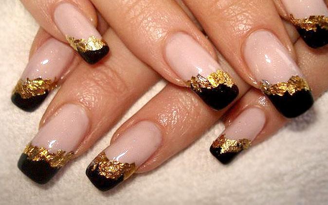 Дизайн ногтей с блестками идеи пошаговые инструкции фото