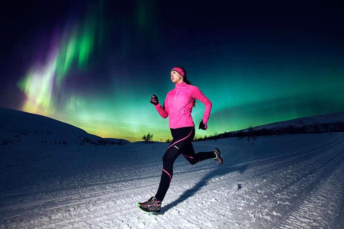Как оставаться в форме зимой: бег зимой для похудения