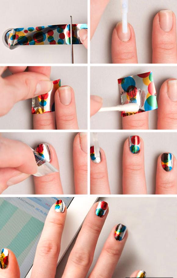 Ногти интересный дизайн