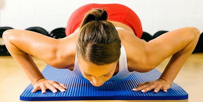 женские упражнения для груди, как подтянуть грудь