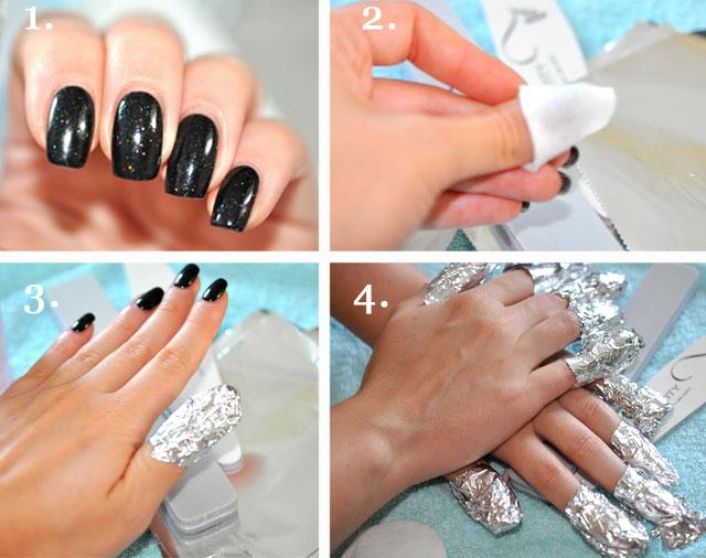 Как сделать на ногтях шеллаком 568