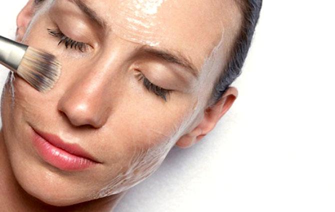 использование кислотного пилинга для кожи лица