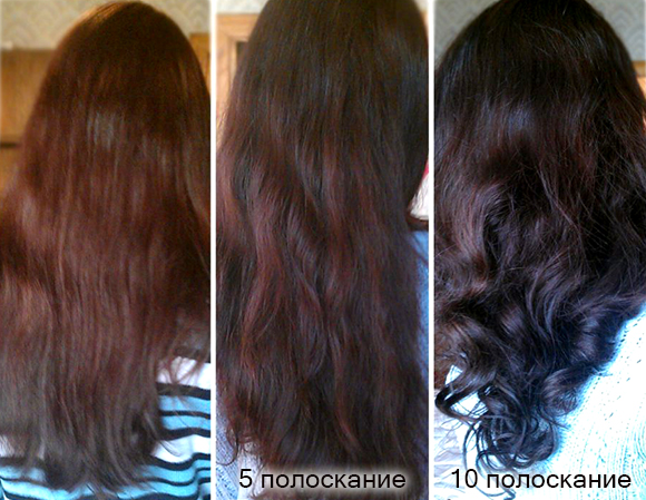 ополаскивание волос корой дуба