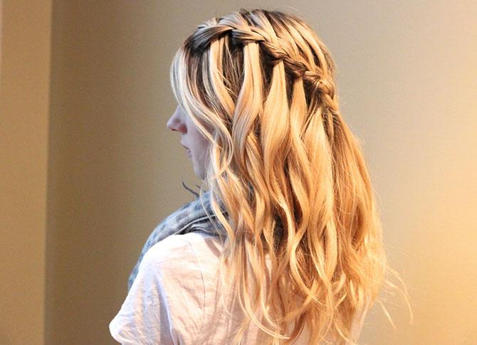 Плетение кос Пошаговое фото и инструкция для начинающих 706