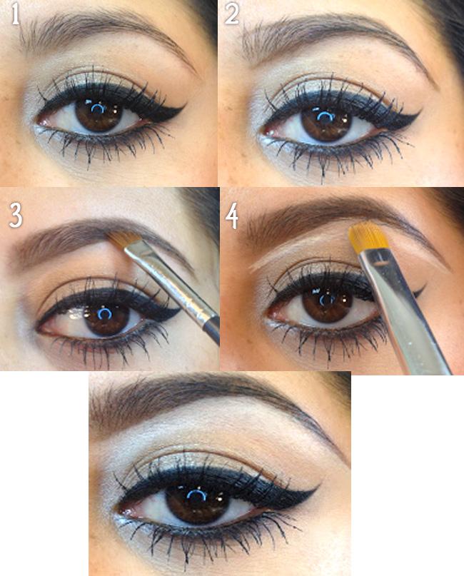 как красить брови карандашом пошаговая инструкция фото - фото 2