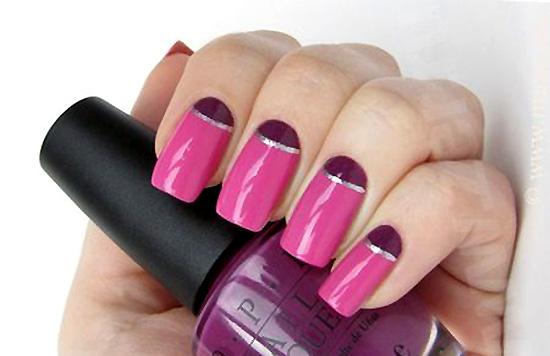 Дизайн ногтей с глиттерами