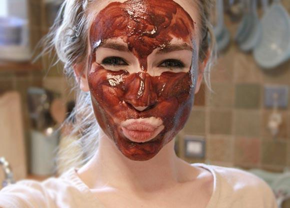 маска шоколадная для лица рецепты