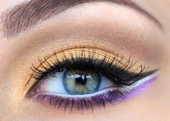 как накрасить глаза карандашом красиво и ярко