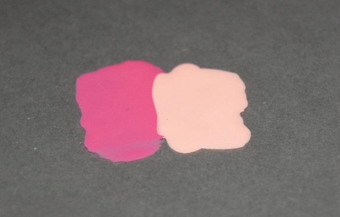Омбре маникюр пошагово: наносим цвета на фольгу