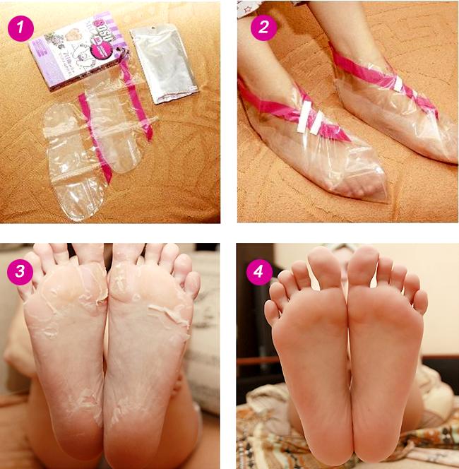 педикюрные носочки инструкция по применению