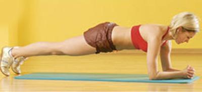 упражнение планка - плоский живот это просто