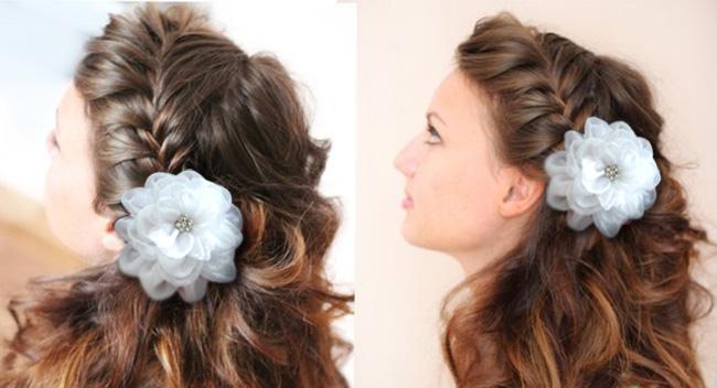Прически для девочек на 1 сентября фото на средние волосы