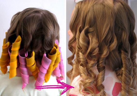 завить волосы 1 сентября