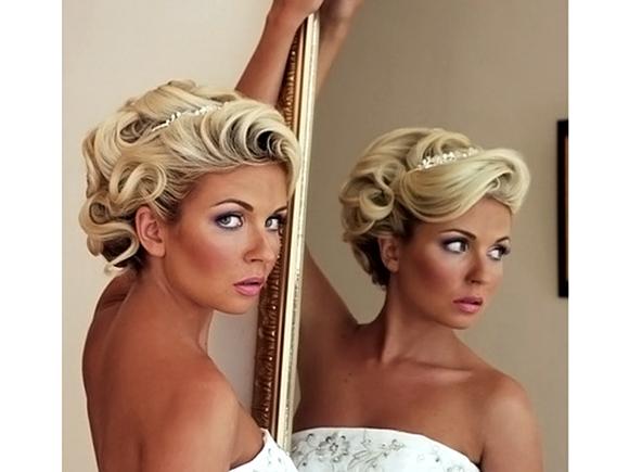 Прически свадебные на короткие волосы картинки