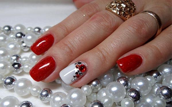 Модные рисунки на ногтях гель-лаком: фото и видео 72