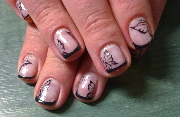 Рисунки на ногтях фото с бирюзовым цветом