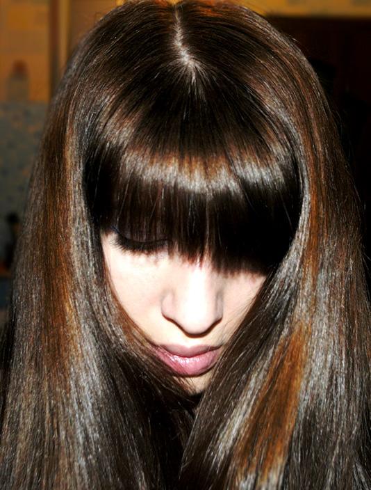 шелуха лука для волос фото после