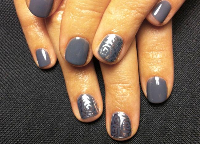 Дизайн маникюра шеллак - 7 фото красивых ногтей