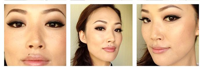 готовый макияж для нависшего века