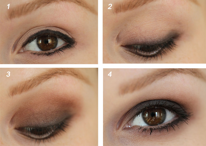 Makeup tip for brown eyes
