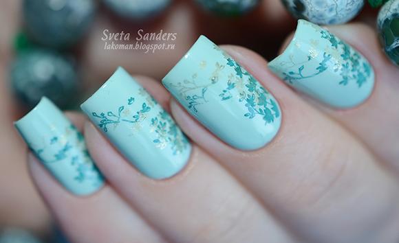 идеи стемпинга для ногтей