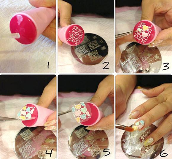 Как сделать на ногтях стемпинг