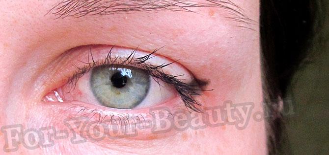 рисуем стрелки на глазах фото пошагово