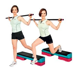 второе упражнение для стройных ног