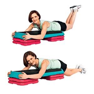 четвертое упражнения, стройные ноги