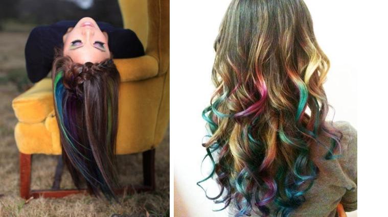 Как интересно покрасить волосы